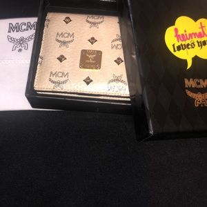 MCM x 'Heimat Loves You' Limited Edition Wallet
